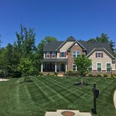 Picture Perfect Lawn Maintenance mowing with striping and fertilizer grass Richmond lawn care