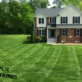 Picture Perfect Lawn Maintenance | 804-530-2540 | checkered lawn mowing service professional quality fertilizer Chesterfield VA