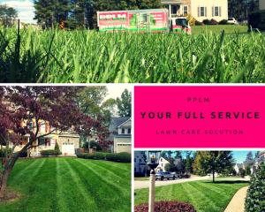 Picture Perfect Lawn Maintenance | 804-530-2540 | PPLM full service landscape care company collage Richmond VA