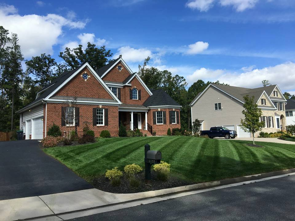 Front page picture perfect lawn maintenance for Classic sliders yard house
